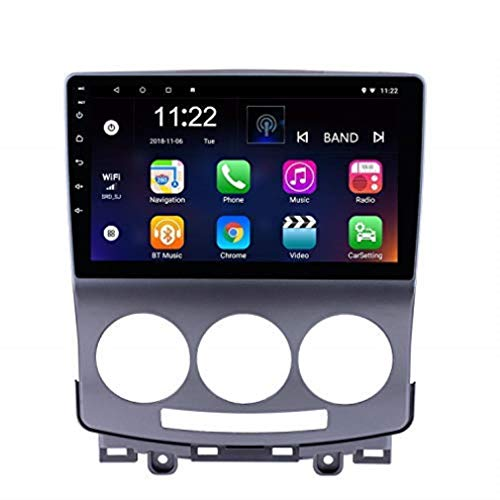 9 Inch Android 8.1 Car Stereo for Old Mazda 5 2005-2010 with Bluetooth Phone Steering Wheel Control USB Carplay