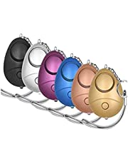 KOSIN Safe Sound Personal Alarm, 6 Pack 140DB Personal Security Alarm Keychain with LED Lights, Emergency Safety Alarm for Women, Men, Children, Elderly