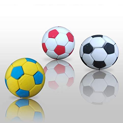 Ogquaton 3 Stücke Fußball Fußball Radiergummi Kreatives Briefpapier Schulbedarf Geschenk Kinder Multicolor Praktisch und Nützlich