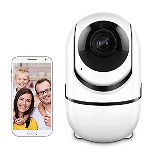 OWEM 720P HD Hoom-Überwachungskamera, Drahtloses Intelligentes Überwachungskamera-Innensystem IP WiFi Mit Nachtsicht-Zweiwegaudio