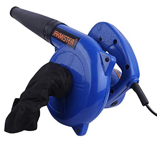 JAKMISTER 600 W 80 Miles/Hour Electric Air Blower Dust PC Cleaner (15000 RPM, Blue)
