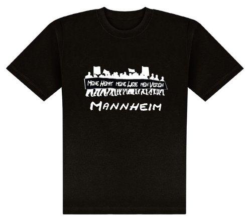 World of Football T-Shirt Meine Heimat. Mannheim - XL