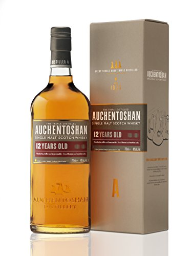Auchentoshan 12 Años Single Malt Whisky Escoces, 40% - 700 ml