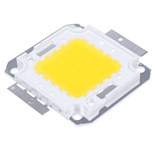 SODIAL(R) 50W Chip LED per Lampada Faretto Luce Bianco Caldo 3800LM Alta Potenza DIY