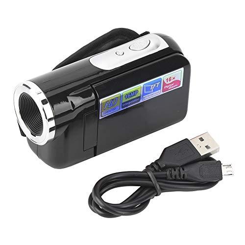 Oferta de Zhjvihx Grabador de videocámara, cámara de Video Digital portátil, fotografía para Andar en Bicicleta para Correr(Black, 12)