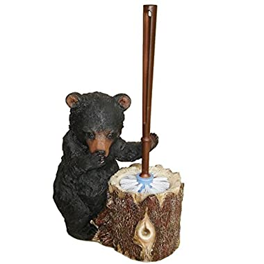 LL Home 10753 Stinky Bear Toilet Brush Holder