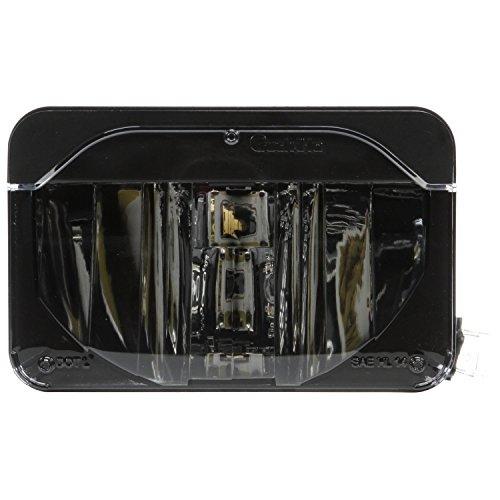 """Truck-Lite 27640C LED Headlight (4""""X6"""" Rectangular , Polycarbonate Lens, Aluminum, Low Beam, 12-24V)"""