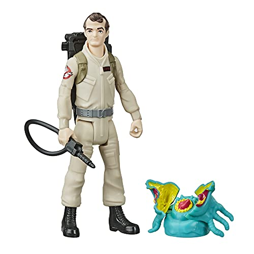 Hasbro Ghostbusters Fright Features Peter Venkman Figure with Interactive Ghost Figure and Accessory, Toys for Kids Ages 4 and Up