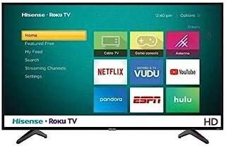 "TV Hisense 40"" 4K Smart ROKU 40H4030F Renewed"