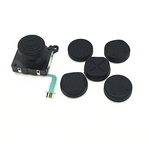 Linyuan Buena Calidad Replacement Parts 6 pcs Silicone analog thumbstick Cover para PSV2000 psv1000