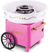 Flyelf Panier Rétro Machine à Barbe à Papa Cotton Candy Maker avec 1 x Cuillère 10 x Bâton de Bambou