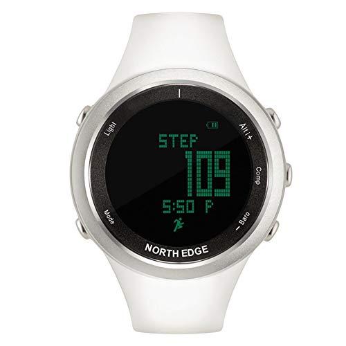 ZYL-YL Smart Outdoor Sportuhr Multifunktionsuhr Herzfrequenzuhr (Color : White)