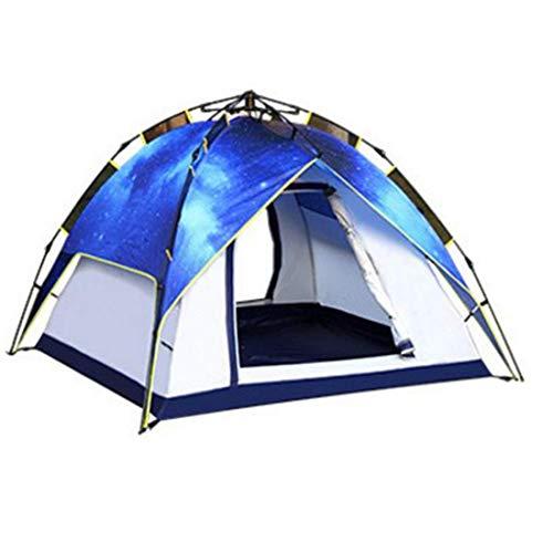 CATRP Marque Tente de Camping Double pour Tente de Camping Automatique pour 3-4 Personnes