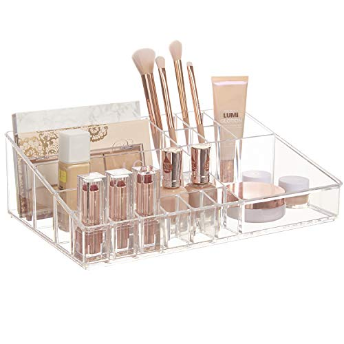 Premium Quality Clear Plastic Cosmetic and Makeup Palette Organizer   Audrey Collection