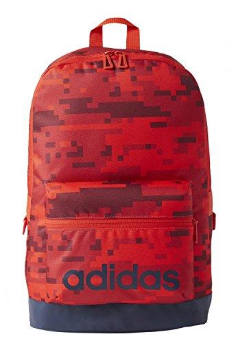 adidas Bp Aop Daily Mochila, Hombre, Rojo (Rojbas), NS