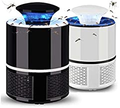 Forcado Electronic LED Mosquito Killer Machine Trap Lamp,USB Powered Electronic Fly Inhaler Mosquito Killer Lamp,Mosquito Killer,Mosquito Killer lamp,Mosquito Killer lamp for Home (1 Piece)