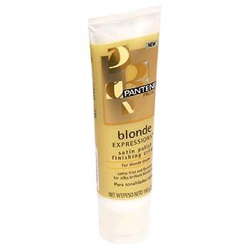 Pantene Pro-V Blonde Expressions Satin Polish Finishing Creme for Blonde Shades 3.5 oz  100 g