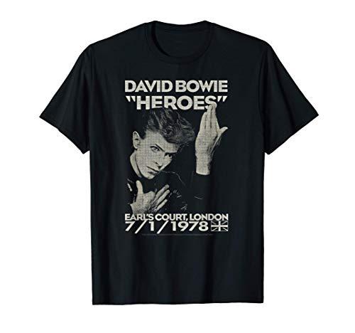 David Bowie - Earl's Court Maglietta