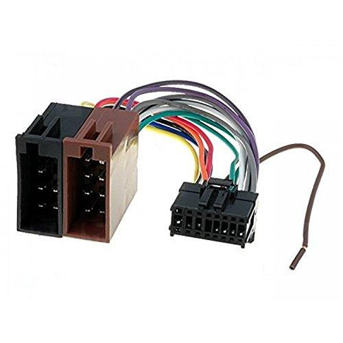 Sound-way ISO Aansluitkabel Conector, Kabel Adapter Autoradio, ondersteuning voor Pioneer 16 pin