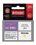 ActiveJet ABR-900Y cartucho de tinta Amarillo 1 pieza(s) - Cartucho de tinta para impresoras (Tinta a base de pigmentos, Amarillo, - Brother DCP 110C, 115C, 117C, 120C, 310CN, 315CN, 340CW - Brother FAX 1835C, 1840C, 1940CN,..., 1 pieza(s), Impresión por inyección de tinta)