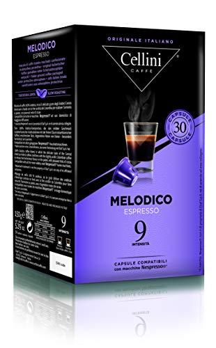 Cellini ESPRESSO MELODICO  (30 Kapseln à 5 g), 1er Pack (1 x 150 g)