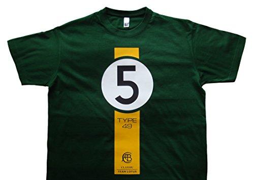 Uber9 Jim Clark Classic Team Lotus USGP T-Shirt