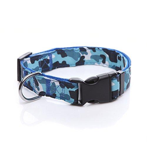 Taida Durable Nylon Camouflage Adjustable Dog Collar