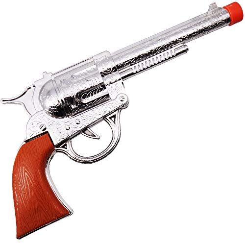 German Trendseller® Western Pistole - Revolver ┃ Sheriff ┃ Colt ┃ 24 cm ┃ Fasching - Karneval - Party ┃ Gun