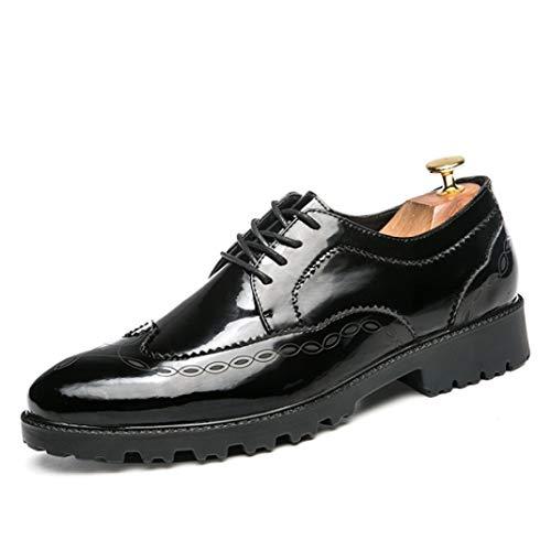 Zapatos de Vestir para Hombres Zapatos de Cuero Oxfords clásicos Calzado Zapatos...