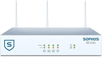 Sophos SG 115W rev.2 TotalProtect Plus 3 YR Bundle WiFi UTM Appliance and FullGuard Plus License 3 Year