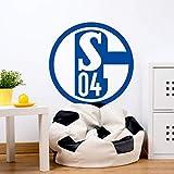selbstklebendes Wandtattoo Fußball Aufkleber Wandposter FC