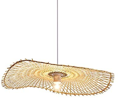 Deluxe CraftThink Rattan sale Pendant Light Asian Ligh Bamboo Style