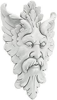 Design Toscano Michelangelo's Florentine Man, Greenman Wall Sculpture, Antique Stone