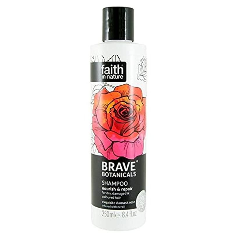 ママ雑品寸前Brave Botanicals Rose & Neroli Nourish & Repair Shampoo 250ml (Pack of 2) - (Faith In Nature) 勇敢な植物は、ローズ&ネロリは養う&リペアシャンプー250Ml (x2) [並行輸入品]