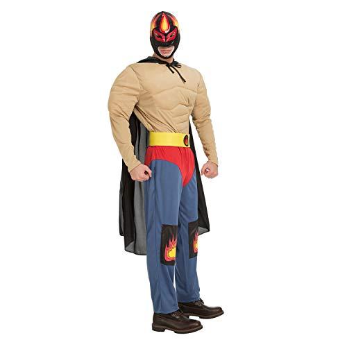 Desconocido My Other Me-204316 Disfraz luchador Ramírez para hombre, M-L (Viving Costumes 204316)