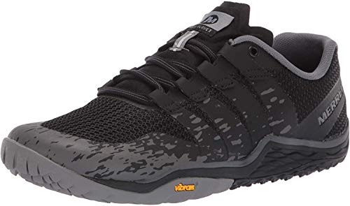Merrell Trail Glove 5, Zapatillas Deportivas para Interior Mujer, Negro, 38.5 EU