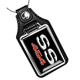 Brotherhood Compatible with Chevrolet Chevy SS 454 Engine Emblem Design Keychain Key Holder Key Ring for Men Heavy Duty Car Keyring for Men and Women