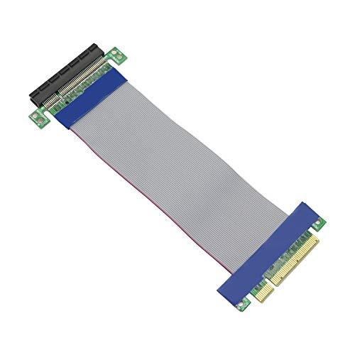 Honglei Cable de extensión PCIE, Cable Elevador Macho a Hembra PCI-Express 8X Extensor PCI-E 8X para Tarjeta gráfica