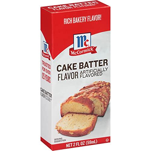 McCormick Cake Batter Flavor, 2 Fl Oz (Pack of 1)