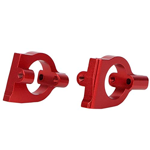 LIZONGFQ Soporte de buje Delantero L / R Soporte de buje Delantero de aleación de Aluminio, para Accesorio de automóvil (10924NB Azul Oscuro) ( Color : 10924R Red )
