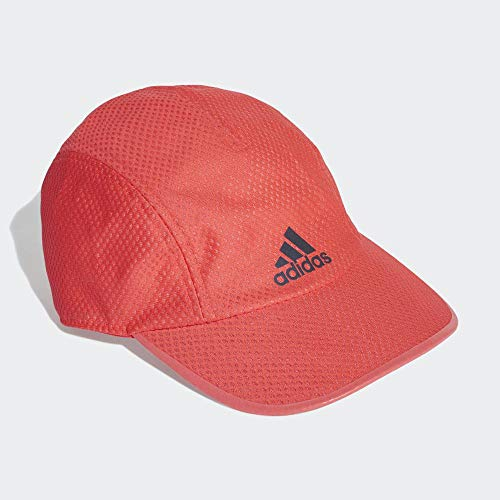 adidas R96 CC Cap Hat, Unisex Adulto, Shock Red/Shock Red/Black Reflective, OSFM