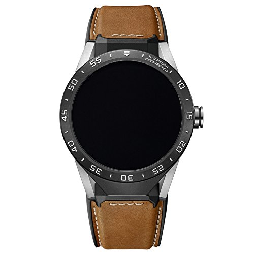 Tag Heuer Connected SAR8 A80.FT6070 - Smartwatch da uomo, pelle di vitello