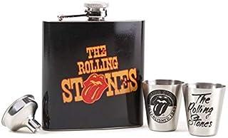 ■ローリングストーンズ■The Rolling Stones ■フラスク ギフトセット ■Hip Flask Gift Set ●ローリングストーンズ正規品 ●100% official Rolling Stones product