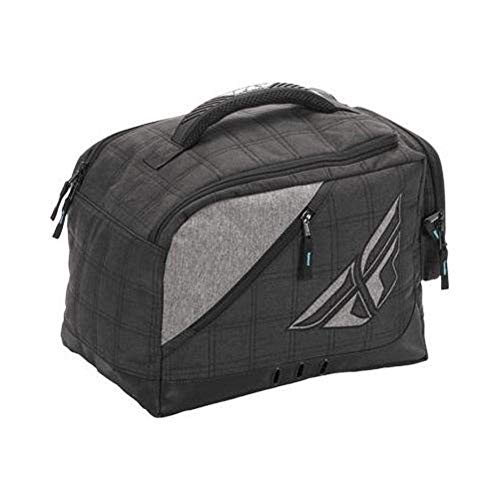 Fly Racing 28-5139 Black/Gray Helmet Garage