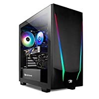 System: AMD Ryzen 5 3600 3.6GHz (4.2GHz Max Turbo); 8GB DDR4 RAM; 240GB SSD; Genuine Windows 10 Home 64-bit Graphics: AMD Radeon RX 5500 XT 4GB dedicated graphics card; VR ready; Display connectors: HDMI, DisplayPort Connectivity: 4 x USB 3.0; 2 x US...
