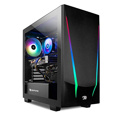 iBUYPOWER Gaming PC Computer Desktop Trace 4 9310 (AMD Ryzen 5 3600 3.6GHz, AMD Radeon RX 5500 XT 4GB, 8GB DDR4 RAM, 240GB SSD, WiFi Ready, Windows 10 Home)