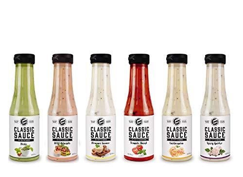 Got7 Classic Sauce - Karlorienfreie Salat, Grill und Würzsauce - Perfekt zum Abnehmen (1. Mix Box, 6x 350ml)