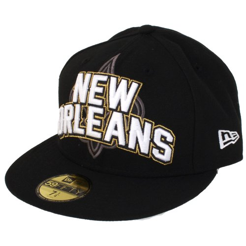 NFL New Orleans Saints Draft 5950 Casquette Noir 7 1/4