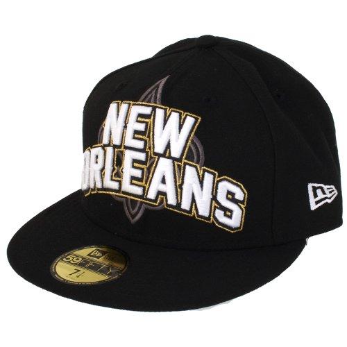 NFL New Orleans Saints Boudin 5950 Casquette, Homme, 10513222, Noir, 7 1/4