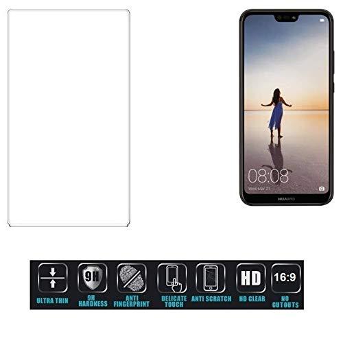 K-S-Trade® Für Huawei P20 Lite Single-SIM Schutzglas Glas Schutzfolie Glasfolie Bildschirmschutzfolie Bildschirmschutz Hartglas Tempered Glass Verb&glas Für Huawei P20 Lite Single-SIM 16:9 Format,